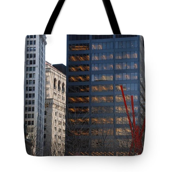 RED Tote Bag by Rob Hans