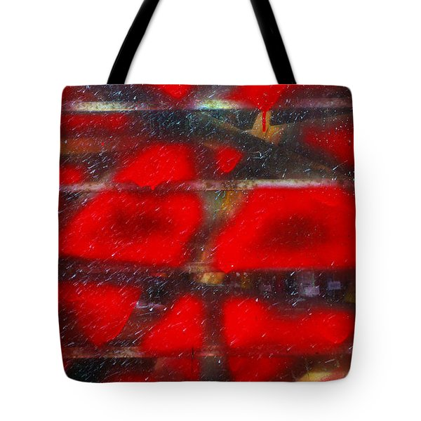 Red Scare Tote Bag by Skip Hunt