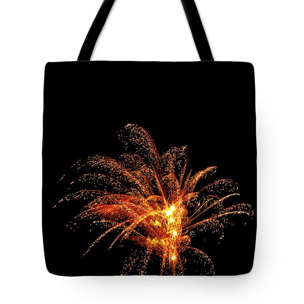 Red Splash Tote Bag by Phill Doherty