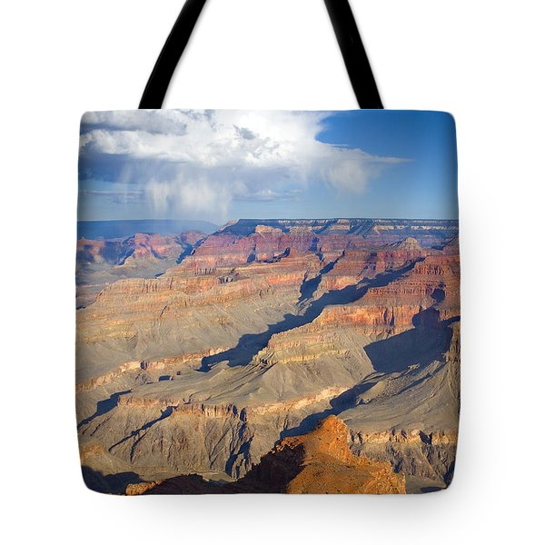 Red Storm Rising Tote Bag by Mike  Dawson
