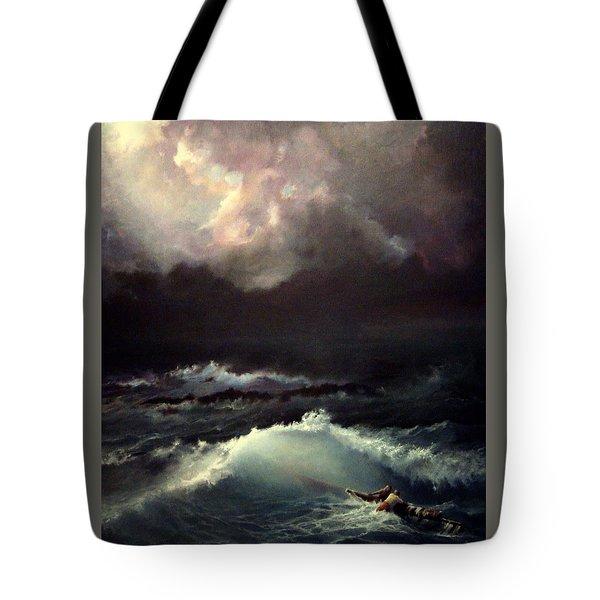 Reef Tote Bag by Mikhail Savchenko