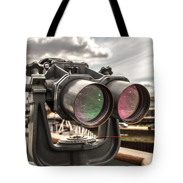 Reflected Power Tote Bag by CJ Schmit