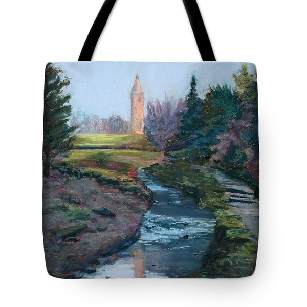 Reflections In History Tote Bag by Mary Benke