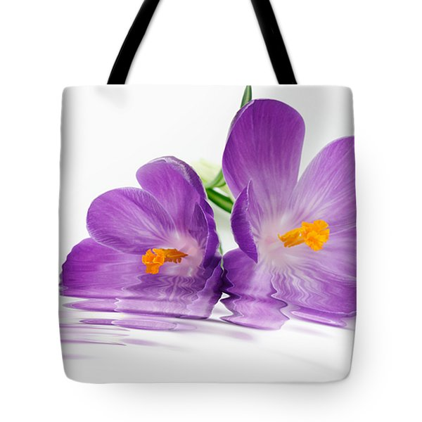 Reflections of Beauty Tote Bag by Cheryl Young