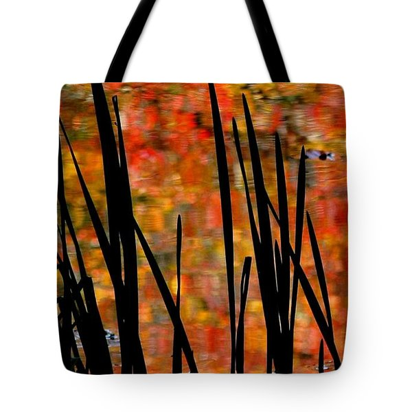 Reflections On Infinity Tote Bag by Angela Davies
