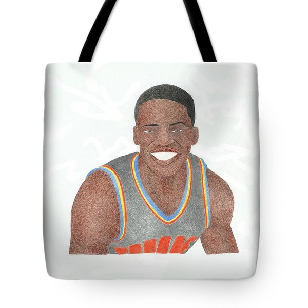 Reggie Jackson Tote Bag by Toni Jaso
