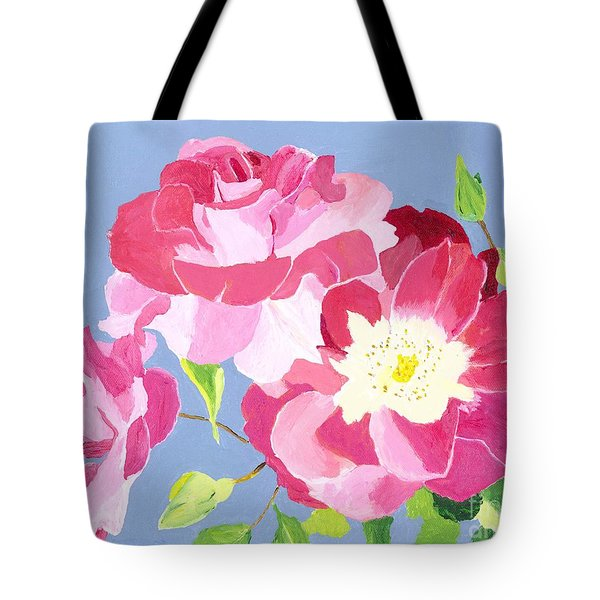 Tote Bag featuring the painting Remembrance by Rodney Campbell