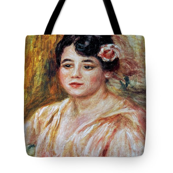 Renoir: Adele Besson, 1918 Tote Bag by Granger