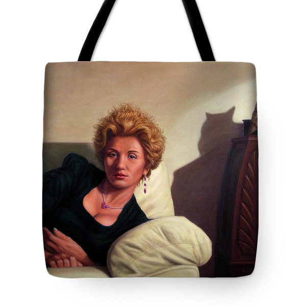 Repose Tote Bag by James W Johnson