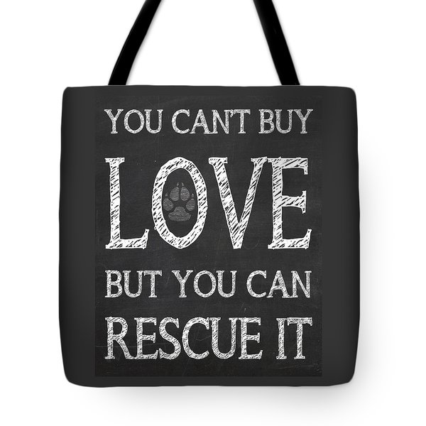 Rescue It Tote Bag by Jaime Friedman