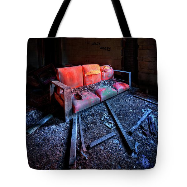 Rest In Pieces Tote Bag by Evelina Kremsdorf