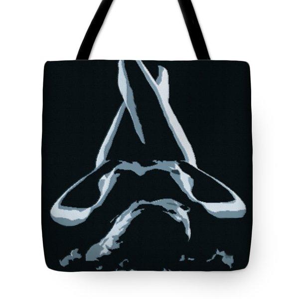 Resting Nude 1 - In Silver Tote Bag by Gina De Gorna