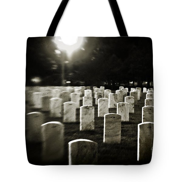 Resting Place Tote Bag by Scott Pellegrin