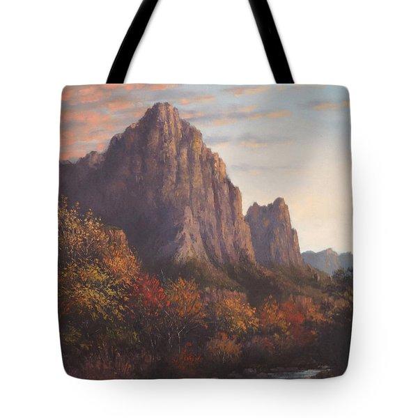 Return To Zion Tote Bag by Sean Conlon