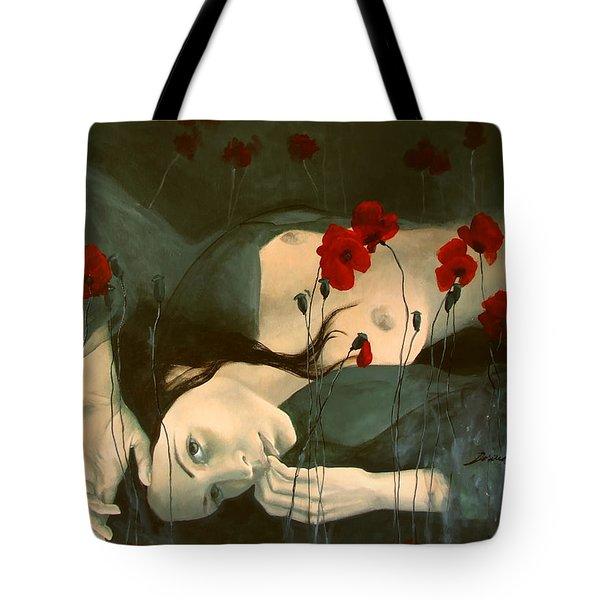 Reverie... Tote Bag by Dorina  Costras