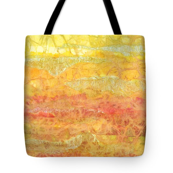 Rhapsody of Colors 30 Tote Bag by Elisabeth Witte - Printscapes