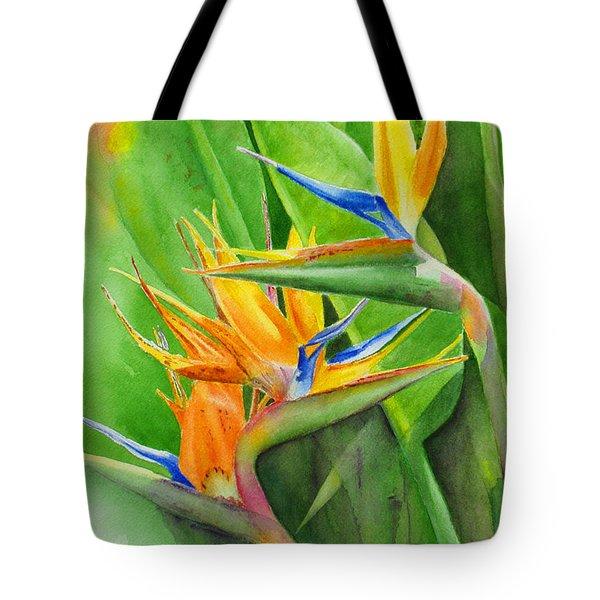 Rhonica's Garden Tote Bag by Karen Fleschler