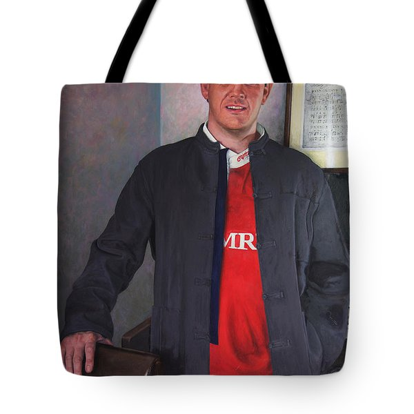 Rhys Meirion Tote Bag by Harry Robertson