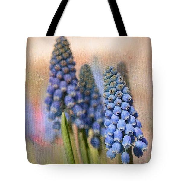 Ringing In Spring Tote Bag by Lisa Knechtel