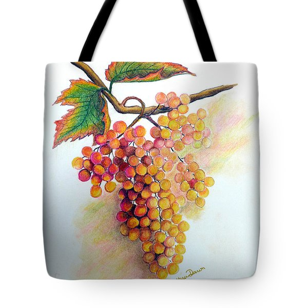 Ripe Muscats Tote Bag by Karin Kelshall- Best