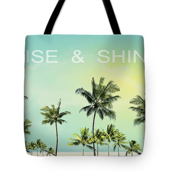 Rise And  Shine Tote Bag by Mark Ashkenazi