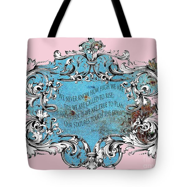 Rise to the Sky Tote Bag by adSpice Studios