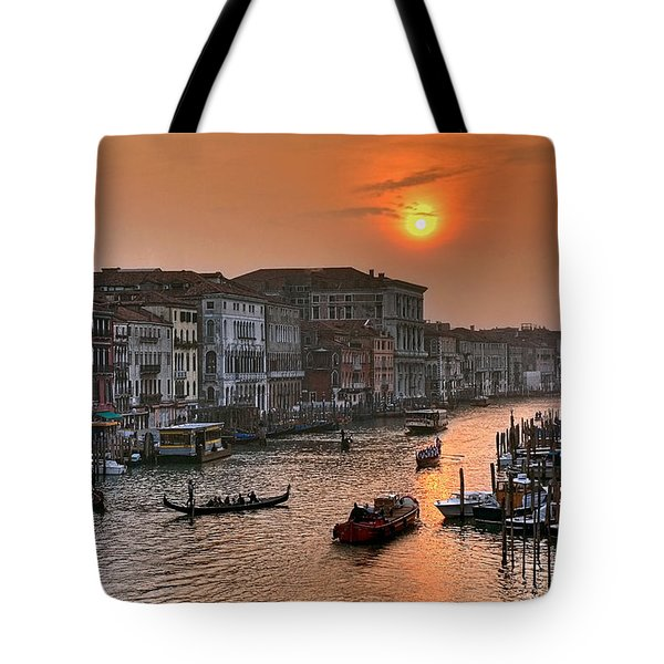 Riva del Ferro. Venezia Tote Bag by Juan Carlos Ferro Duque