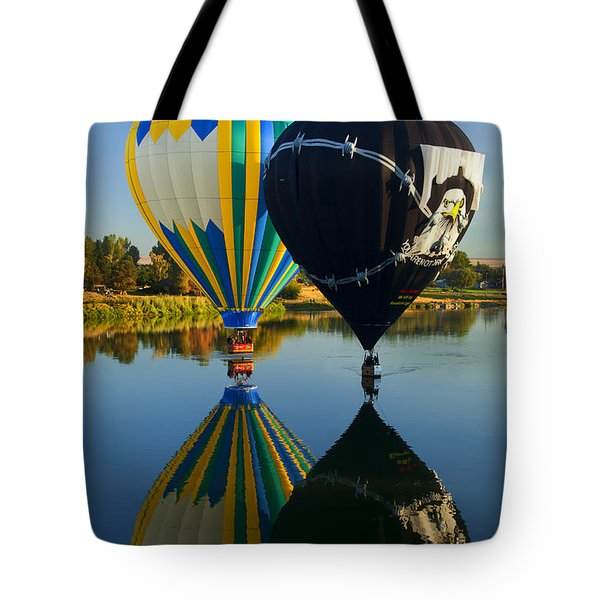 River Dance Tote Bag by Mike  Dawson
