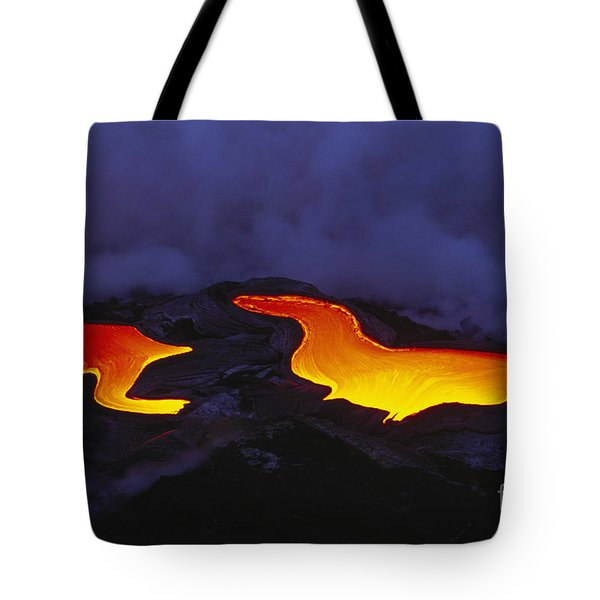 River Of Lava Tote Bag by Peter French - Printscapes