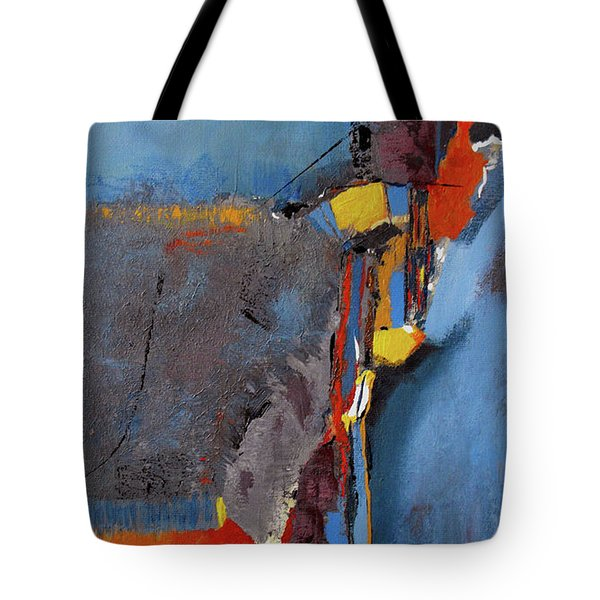 Road To Damascus Tote Bag by Ruth Palmer