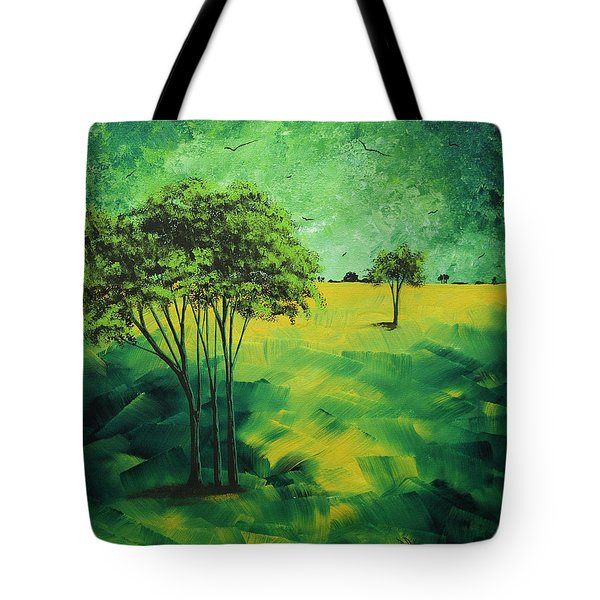 Road to Nowhere 1 by MADART Tote Bag by Megan Duncanson