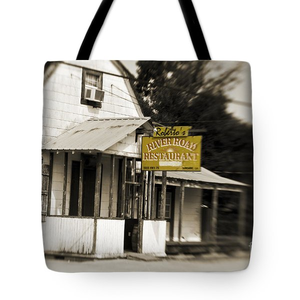 Roberto's Tote Bag by Scott Pellegrin