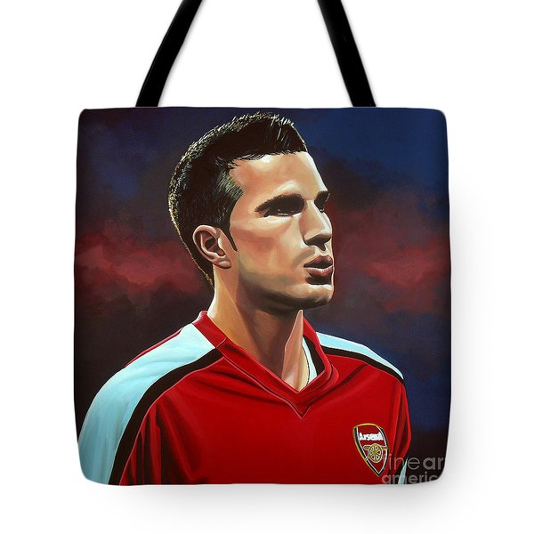 Robin Van Persie Tote Bag by Paul Meijering