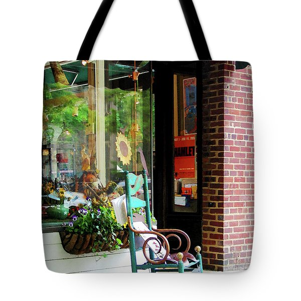 Rocking Chair By Boutique Tote Bag by Susan Savad