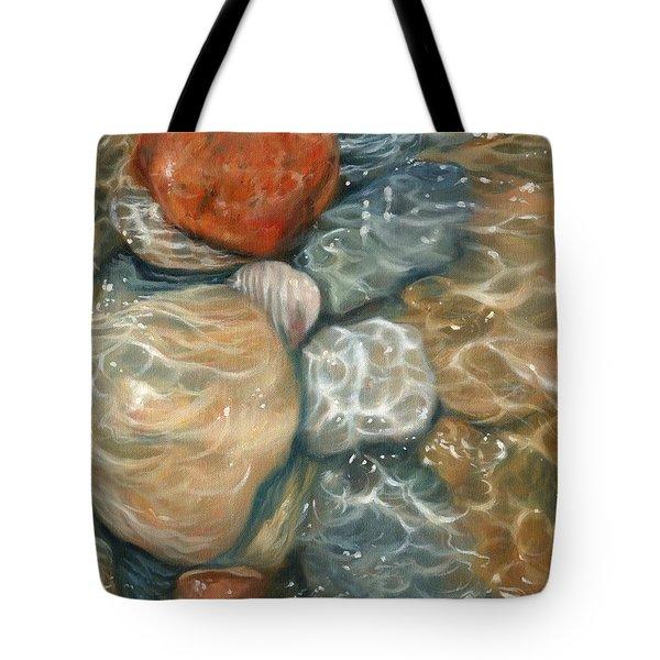 Rockpool Tote Bag by David Stribbling