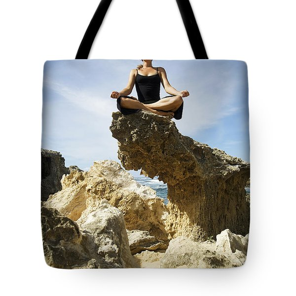 Rocky Yoga Tote Bag by Kicka Witte - Printscapes