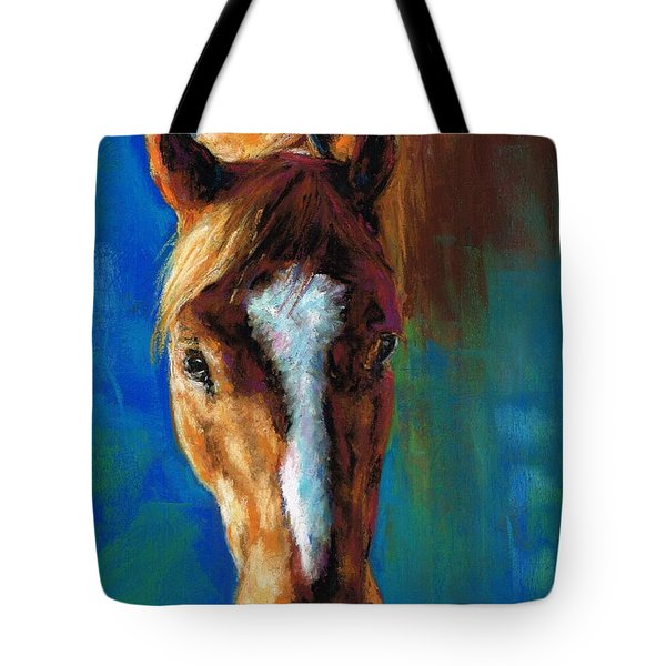 Rojo Tote Bag by Frances Marino