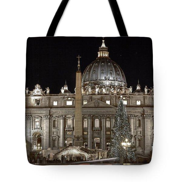 Rome Vatican Tote Bag by Joana Kruse