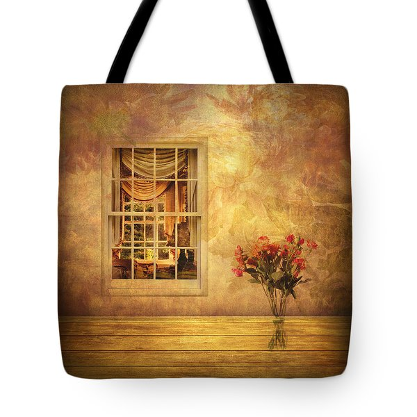 Room With A View Tote Bag by Jessica Jenney