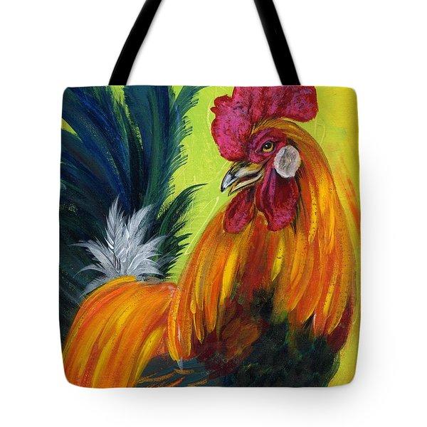 Rooster Kary Tote Bag by Summer Celeste