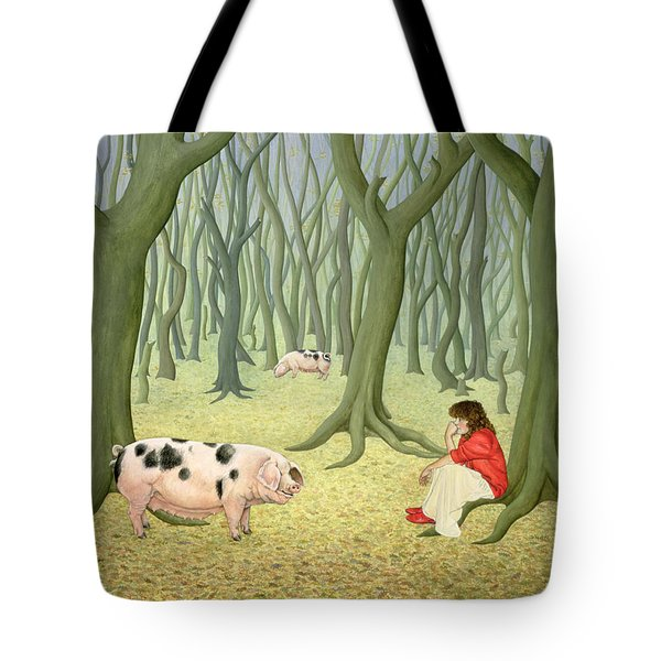 Roots Tote Bag by Ditz