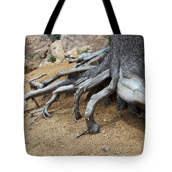 Roots Tote Bag by Ernie Echols
