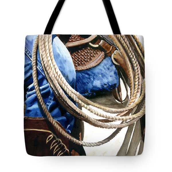 Rope Tote Bag by Nadi Spencer