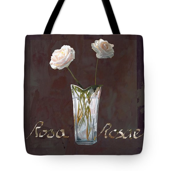 Rosa Rosae Tote Bag by Guido Borelli