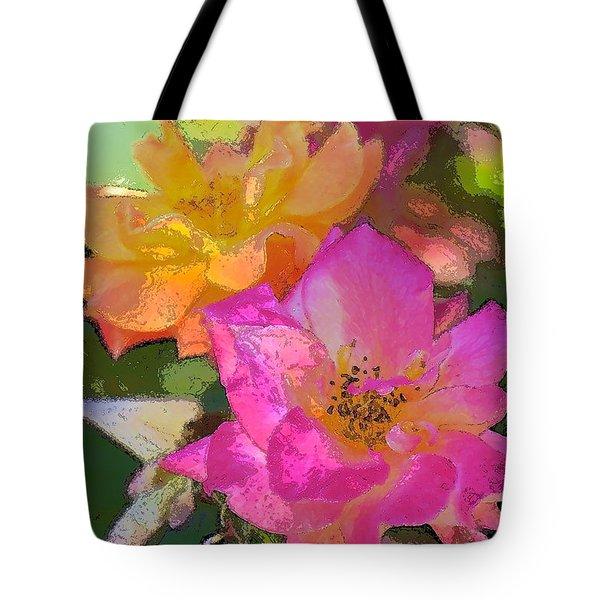 Rose 114 Tote Bag by Pamela Cooper