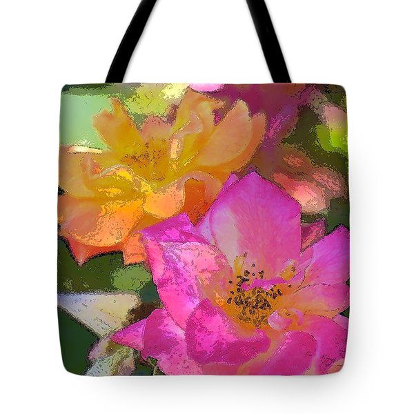 Rose 114 Tote Bag by Pamela Cooper