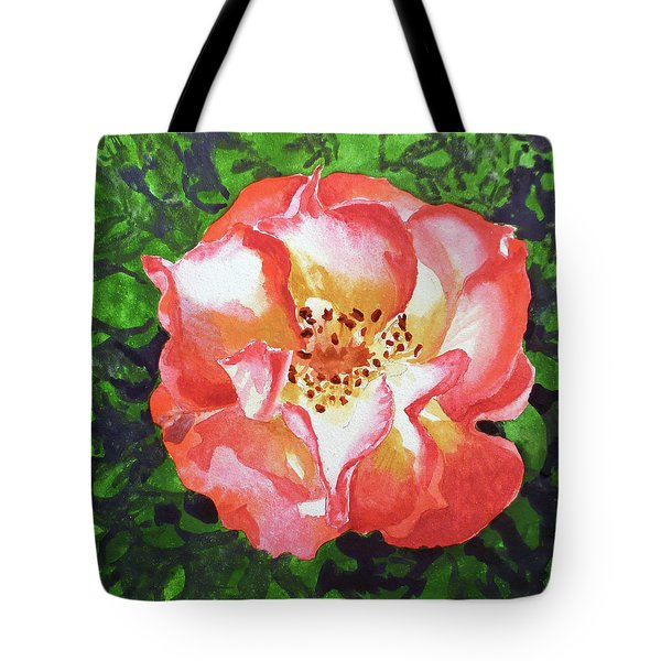 Rose  Tote Bag by Irina Sztukowski