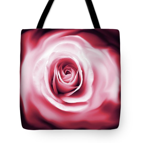 Rose's Whispers Magenta  Tote Bag by Jennie Marie Schell