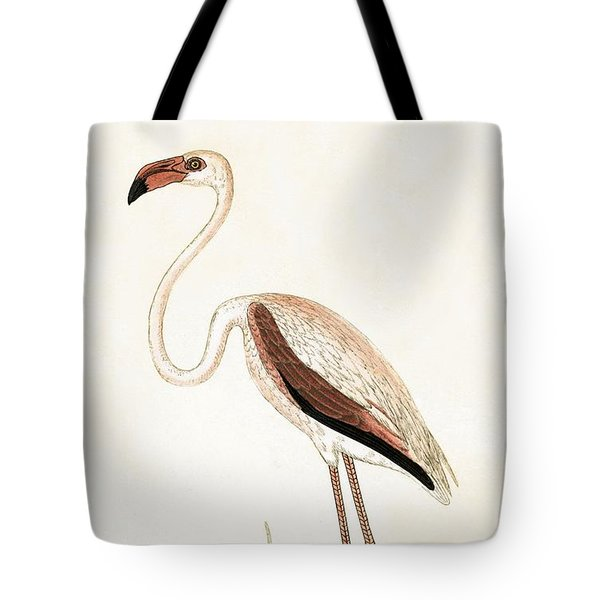 Rosy Flamingo Tote Bag by English School