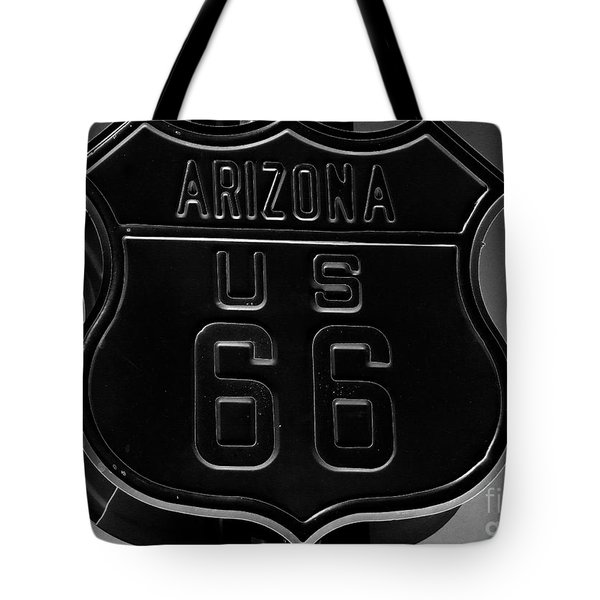 Route Sixty Six Tote Bag by David Lee Thompson